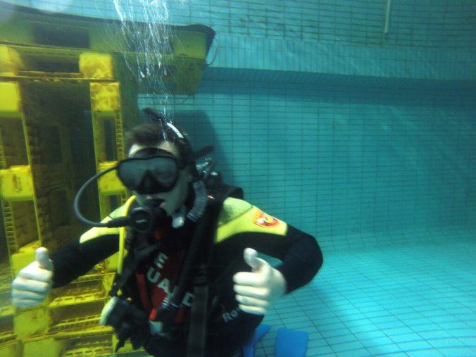 Cory Scuba Diving