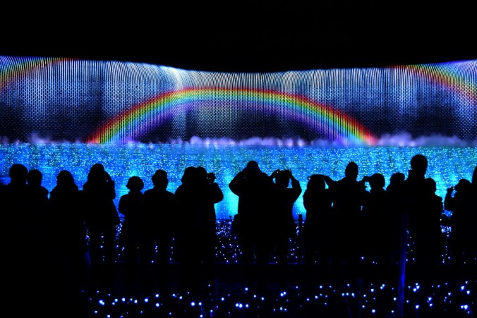 Nabana No Sato - Niagra Falls Light Show