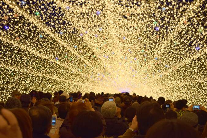 Nabana No Sato - Tunnel of Lights