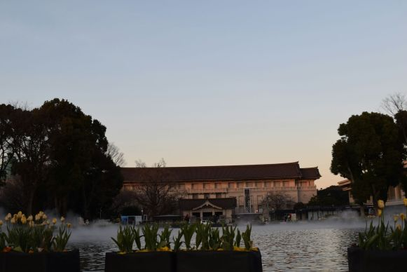 Tokyo's National History Museum across from Ueno Park
