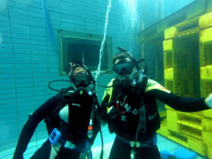 Pool Dive -  Getting Scuba Diving Certified