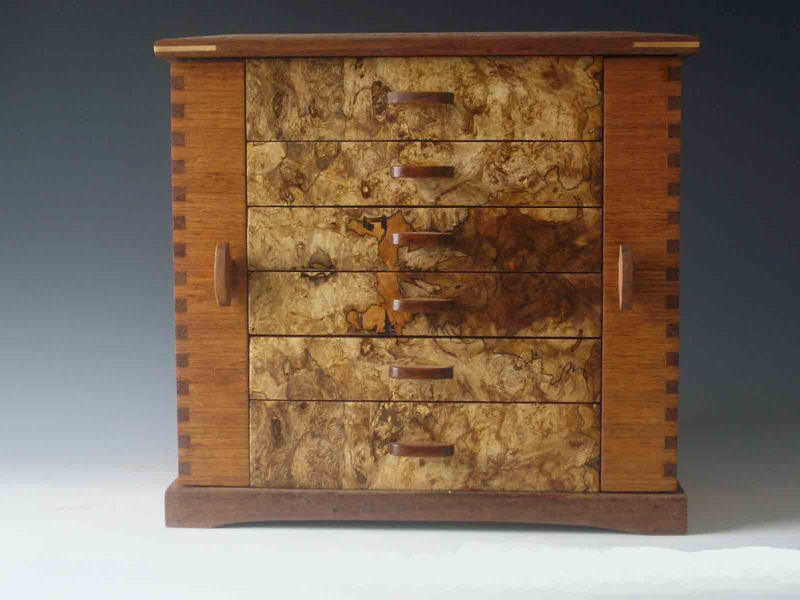 Give Unique Womens Gifts Of Handmade Jewelry Boxes