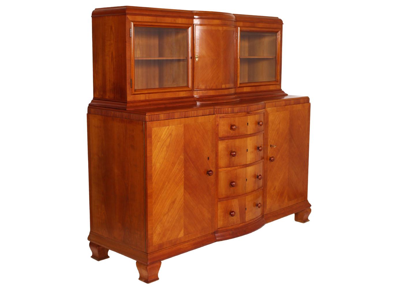 Antique Sideboard Buffet Art Deco 1930s