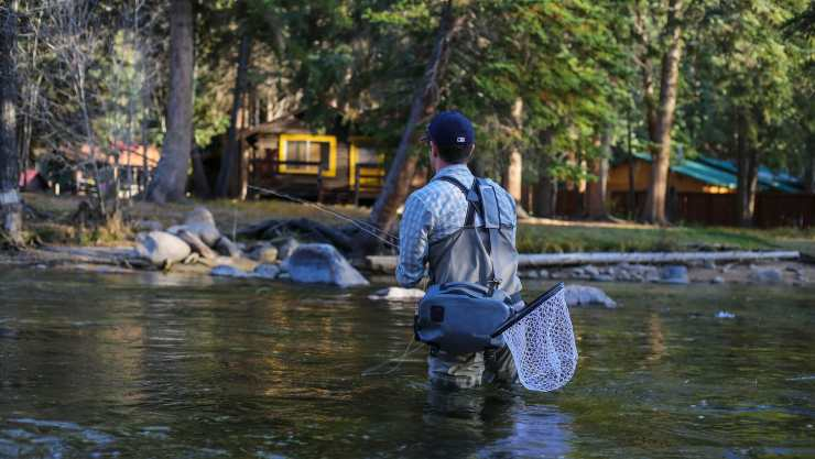 Fly fishing in Boulder