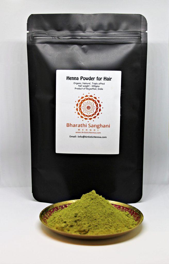 Henna Powder For Hair 100gms Artistic Henna Henna