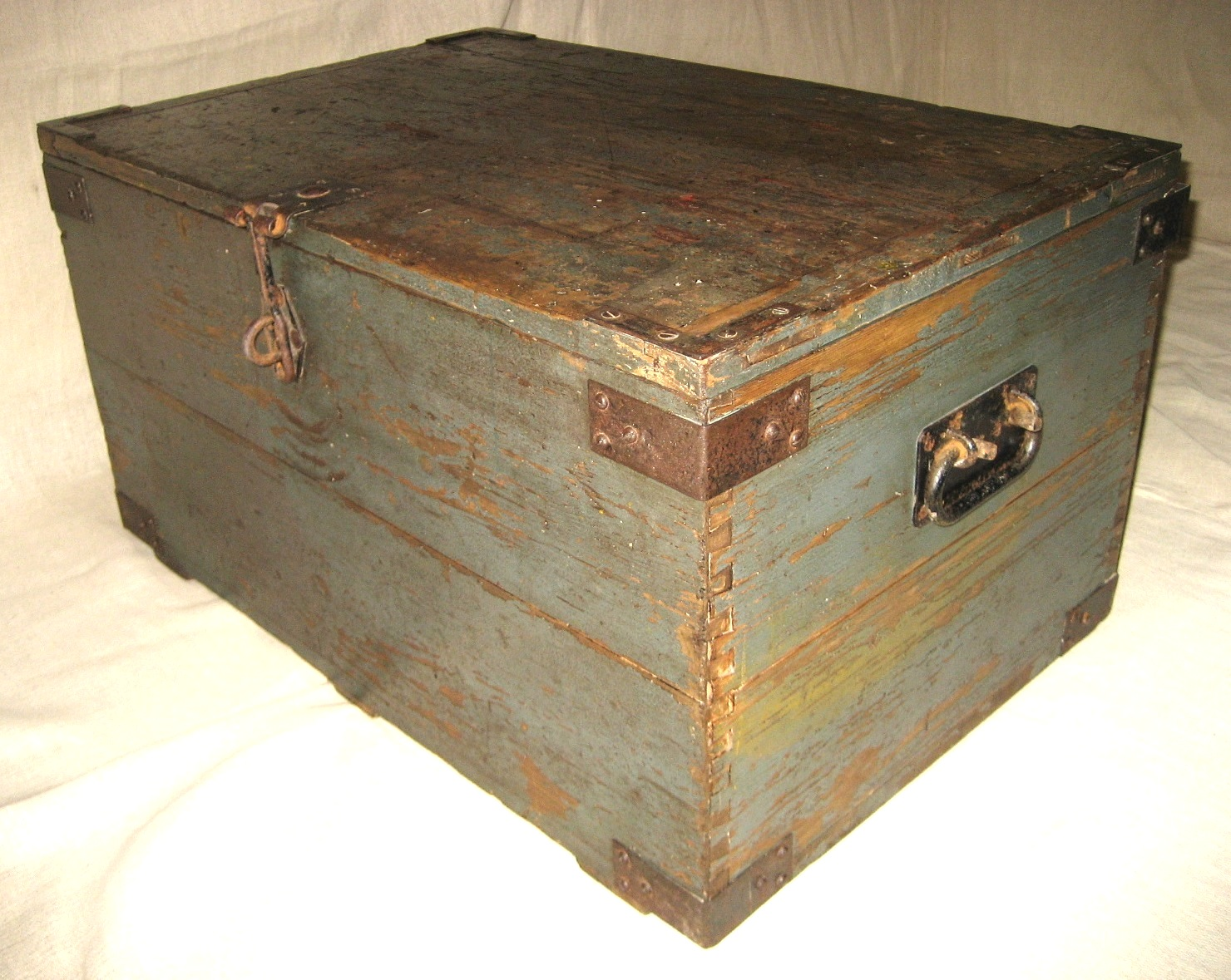 GPO Wooden Tool Chest Artistic Industrial Part 1