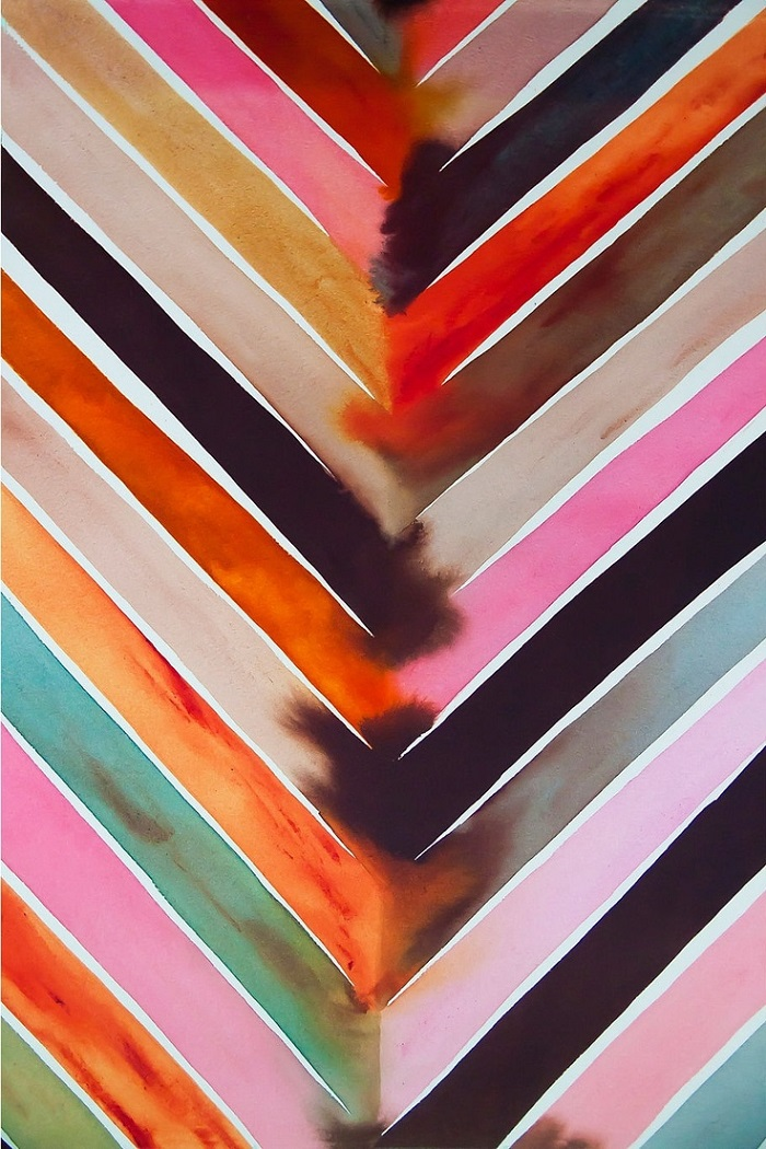 Powerful Abstracts By Artist Lourdes Sanchez