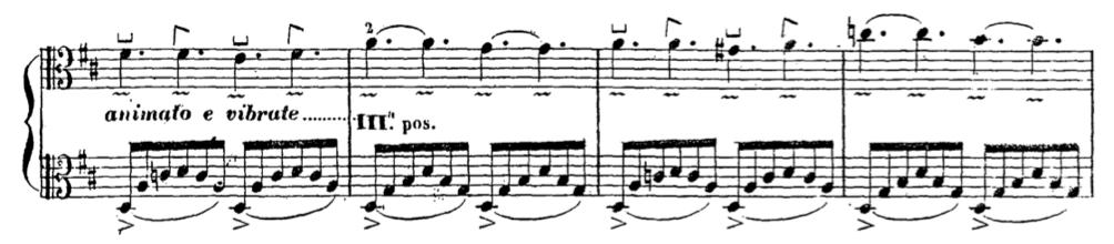 Giorgetti Ferdinando, Metodo per esercitarsi a ben suonare l'Alto-Viola, Milano, Tito di G. Ricordi, 1854. Pg. 18
