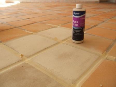 aqua mix stain piso blanco pint