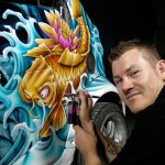 Stuart Vimpani commercial artist