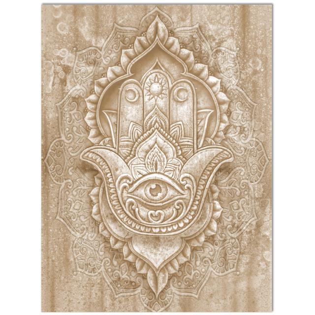 yoga symbols - hamsa hand