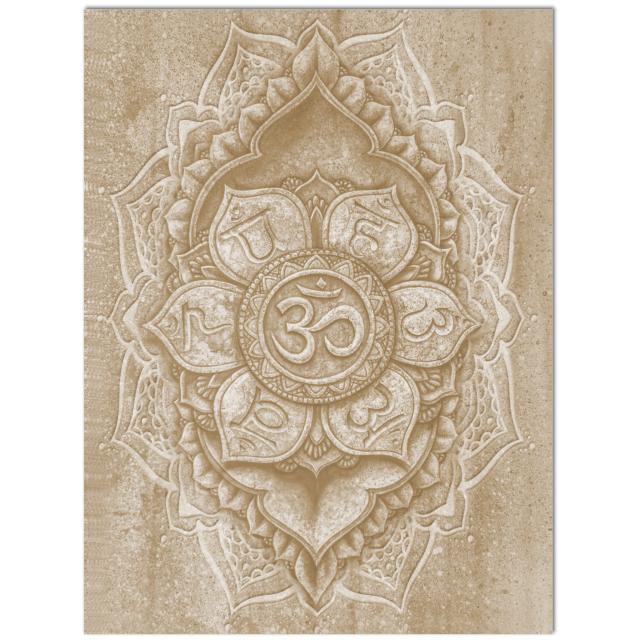 yoga symbols - sacred om aum