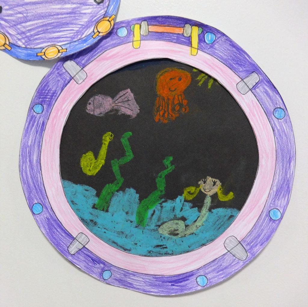 Under The Sea With Preschool 5 Artistiqatar