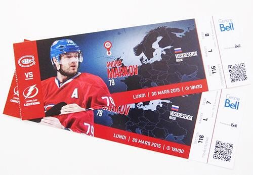 Canadiens suprise fans with 150 printing fees shut the puck up - Image hockey canadien ...