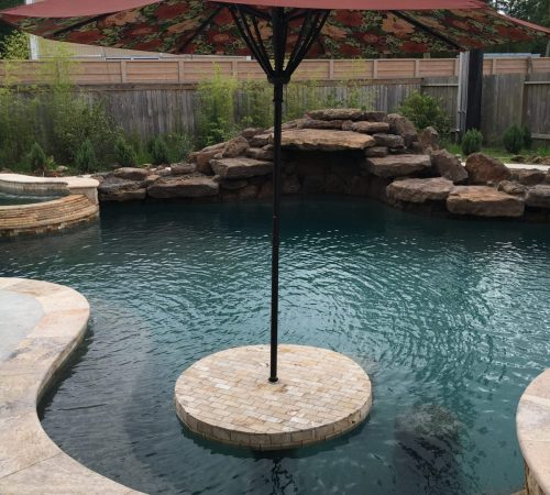 pool design, special features, structural features