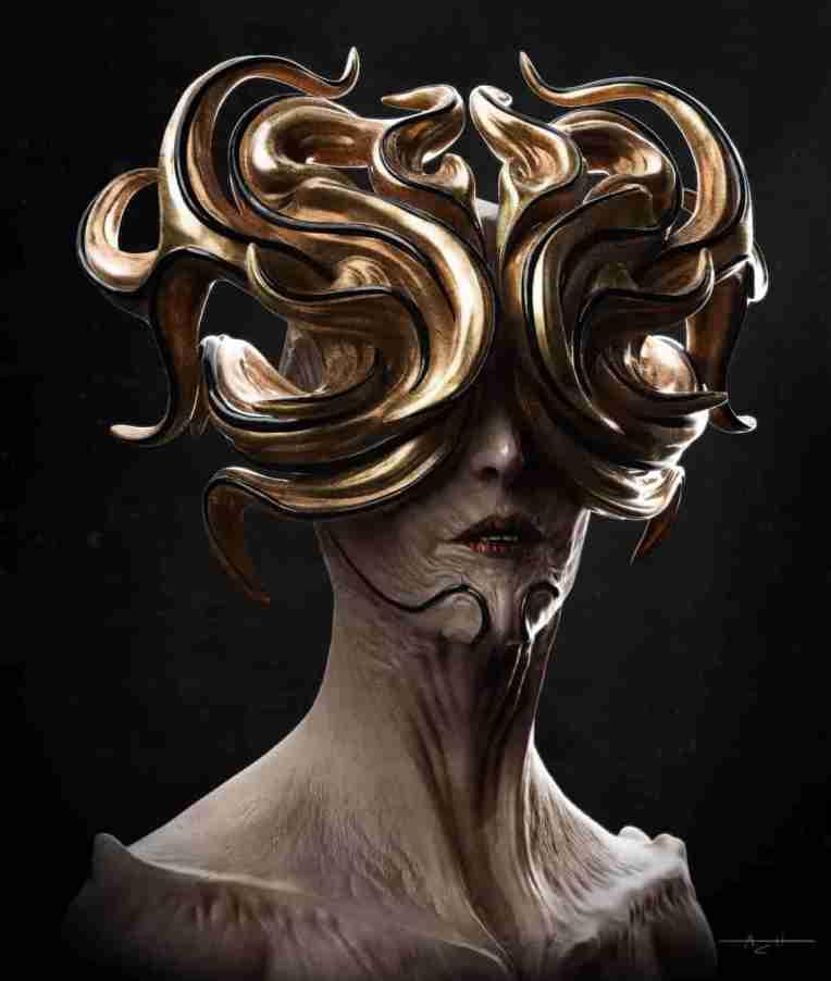 Aaron Colman Hayes Theia 3d concept sculpt dominic qwek
