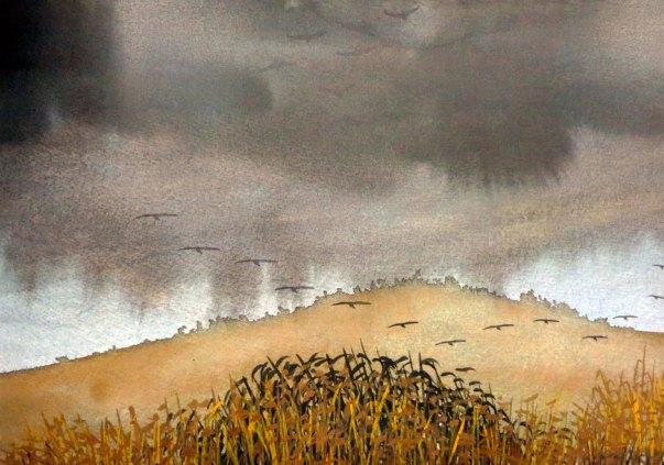 Farid Abu Shakra - Cranes
