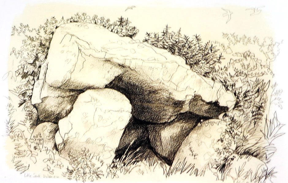 Carry Akroyd - Little Sark Dolmen