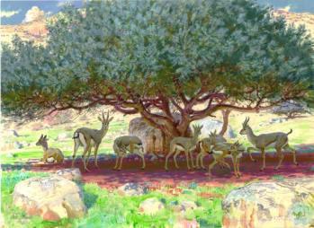 Gazelles, Vadim Gorbatov - Russia