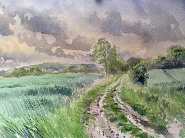 Behind the Kroko Puzsta, by Jonathan Yule, England