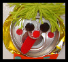 Silly Soda Can Clown Magnets