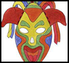 """Colorful   Paper Masks <span class=""""western"""" style="""" line-height: 100%""""> <span class=""""western"""" style="""" line-height: 100%""""> : American Indians Crafts Activities for Children</span></span>"""