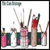 Tin   Can Storage Containers