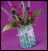 Candy   Stick Vase  : Soda Can Crafts Ideas for Kids