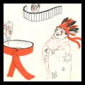 How to Make a Native American / Indian Headdress Headband Costume from Corrugated Cardboard