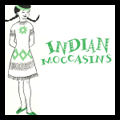 How to Make Native American / Indian Girl Moccasins Costume