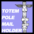 Make Totem Pole Mail & Notes Holder Gift for Dad's Office on Father's Day