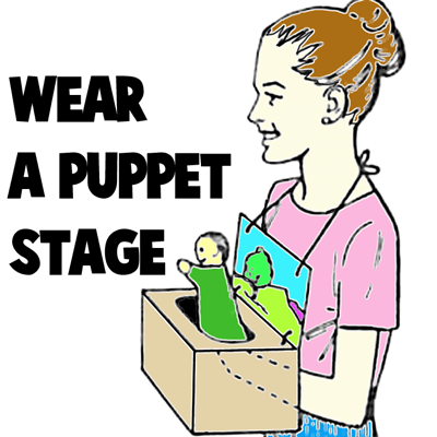 How to Make a Wearable Puppet Stage