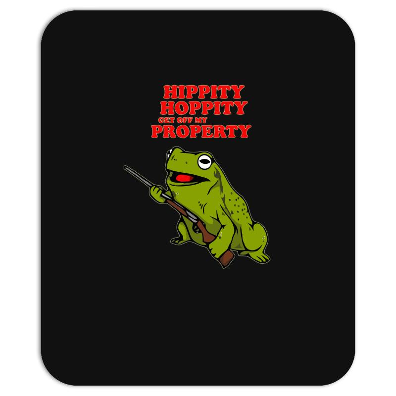 Custom Hippity Hoppity Get Off My Property Mousepad By Aheupote Artistshot