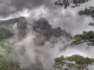 Huangshan Mountains, China by Tom Horton