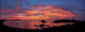 Harbor Sunset, Flores Island, Indonesia