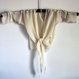 Kimono Inspired Concept Piece in 100% Silk (Photographer: Christopher McElligott)