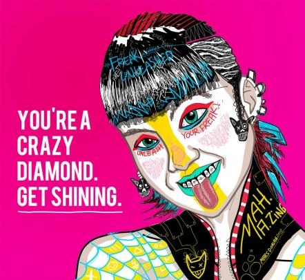 """""""Crazy Diamond"""""""