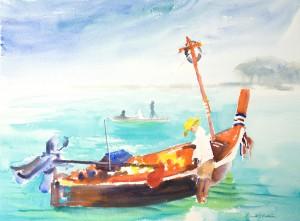 """Thai Fisherman"" by Creative Spirit David B. Goldstein"