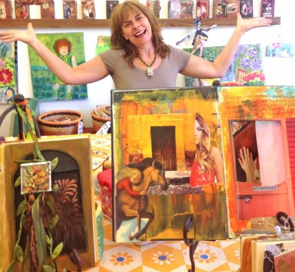 Creative Spirit Virginia Simpson-Magruder on Artist Strong