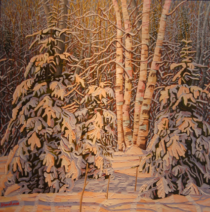 Creative Spirit Bruce Stonehouse talks about embracing his love of art upon retiring, the beauty of Canada's winter, & the relationship between gratitude & art.