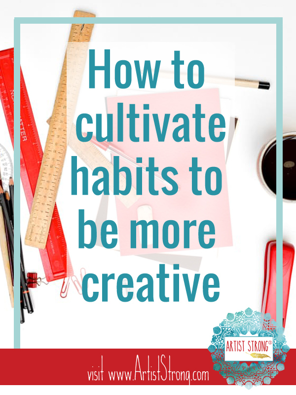 power of habit, free art resources, changing habits, art education, free art lessons