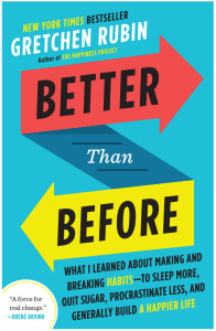 How can habits cultivate your creativity? A review of the Book Better than Before by Gretchen Rubin and apply it's ideas to creative process.