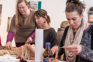 In 2011, after her mother, Surel Mitchell passed away, Kelada founded Surel's Place, the state's only non-profit artist-in-residence program. Click to read more!