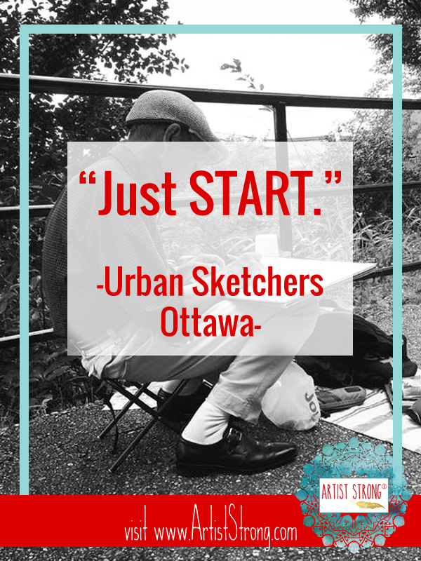urban sketching, art interview, quotes by creatives, creativity quotes, art quotes