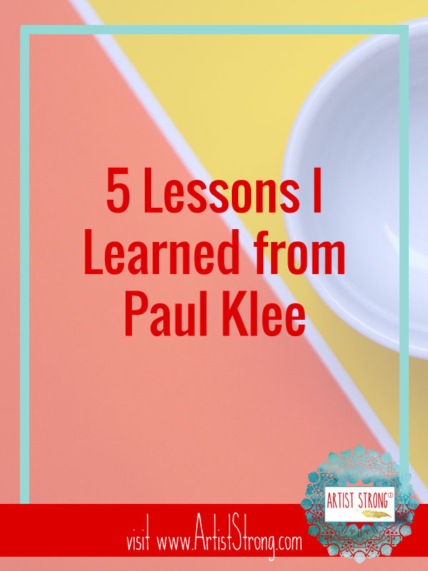 Paul Klee breaks these 5 art rules and so should you. Enjoy Paul Klee at the National Gallery and discover Paul Klee quotes and facts. Use this resource to help you develop your art style and to help you overcome other artist problems. #mixedmediaart #watercolour #watercolor #paulkleeart #arteducation