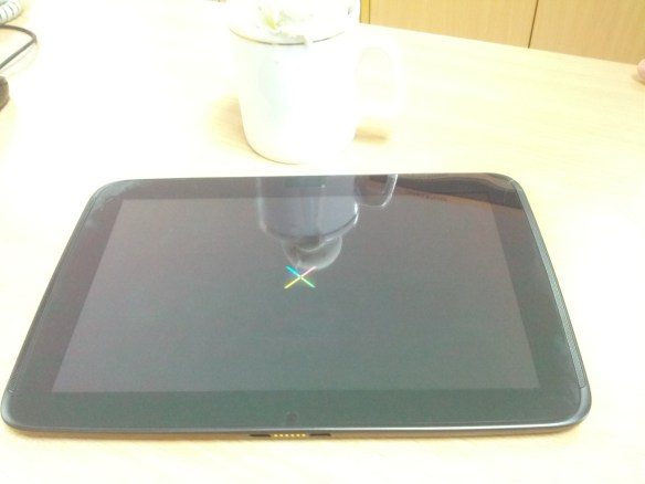 Nexus 10 Boot animation