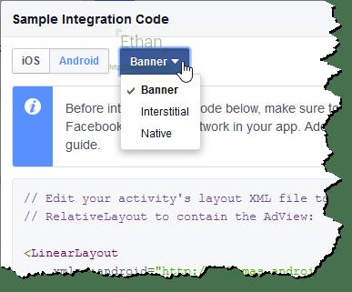 หน้าต่าง Simple Integration Code เมื่อกดปุ่ม Get Code