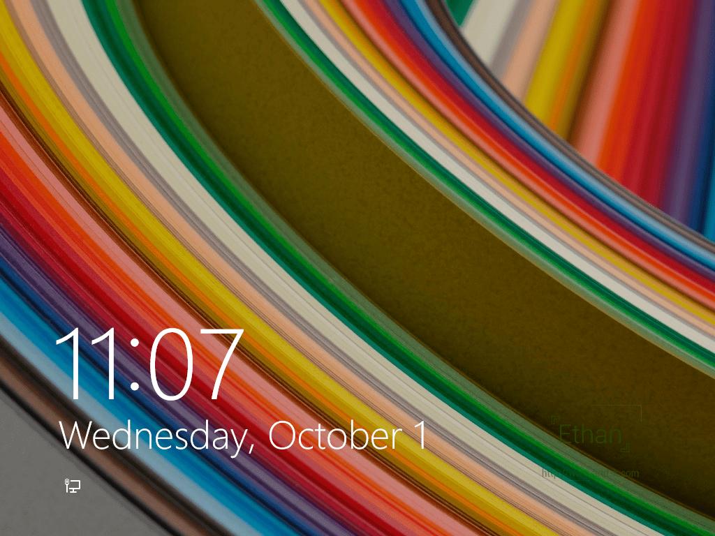 หน้า Lock Screen
