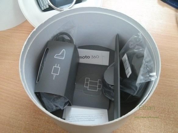 อุปกรณ์ต่าง ๆ ภายในกล่อง