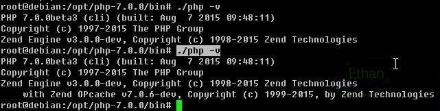ตรวจสอบ Version ของ php